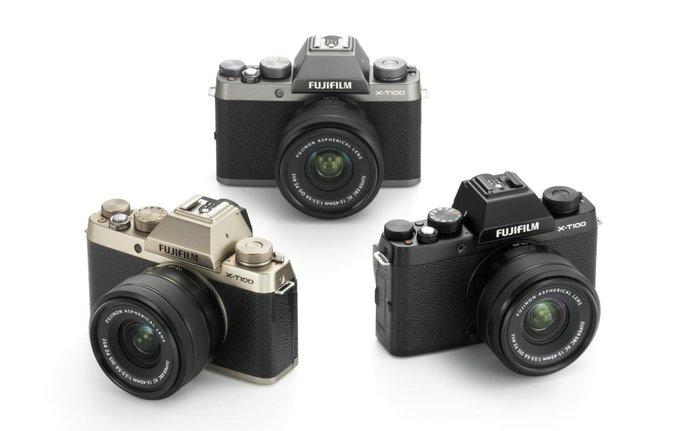 Три цвета Fujifilm X-T100