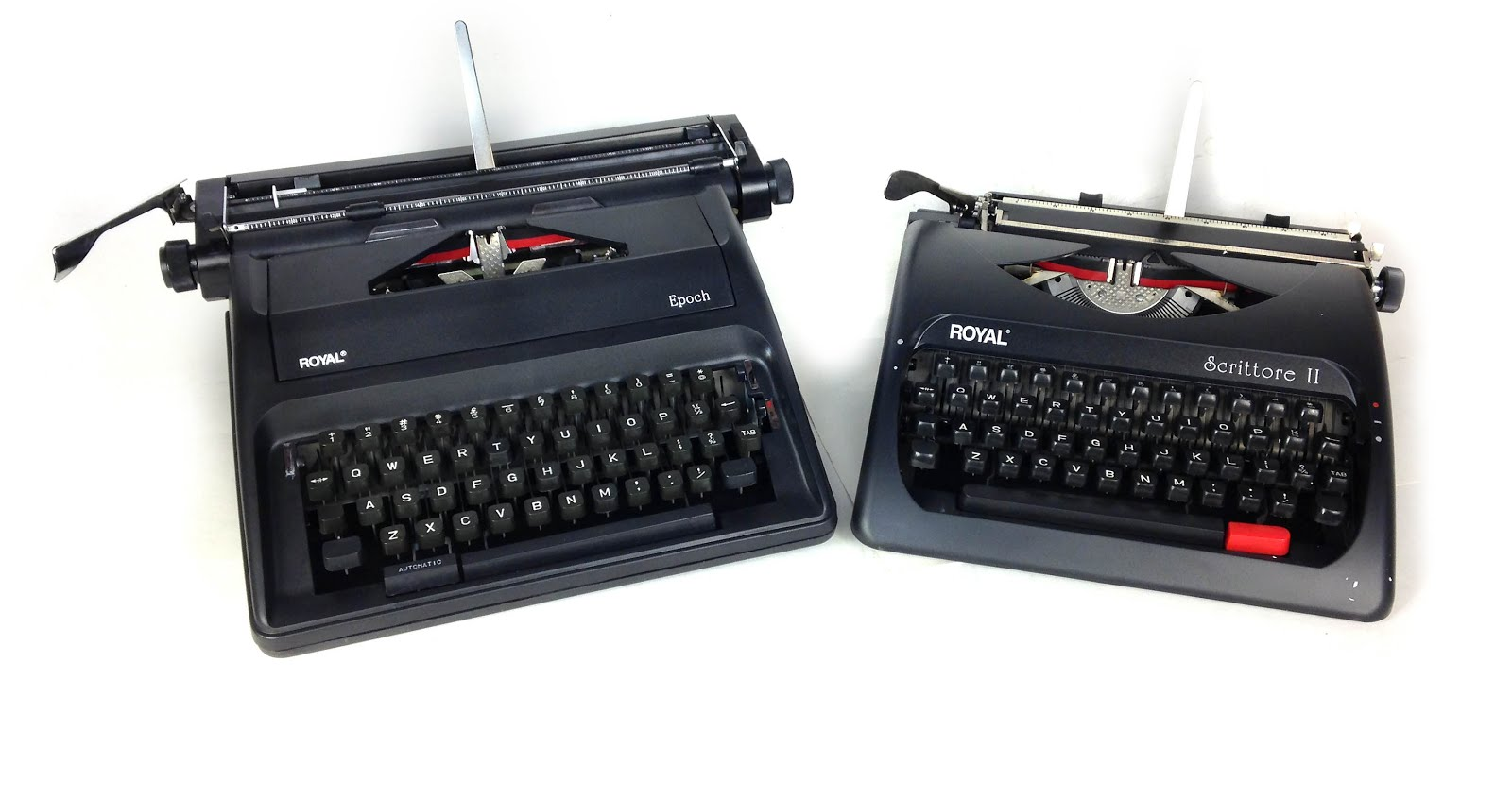 Shanghai Weilv has also produced typewriters with different mechanisms,  such as the Royal Scrittore II, which I review here. The Scrittore is a  smaller, ...