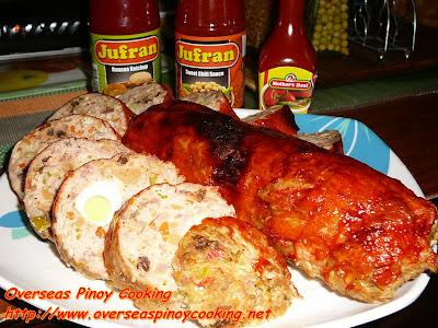 Chicken Relleno Rolls, Embutido Style