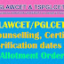 TS LAWCET /PGLCET 2017 Phase-2 Exercising Web options,Seats allotments- Document Verification , Fee Payment@ lawcet.tsche.ac.in
