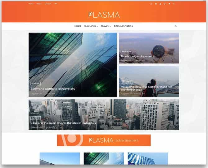 Plasma Blogger templates