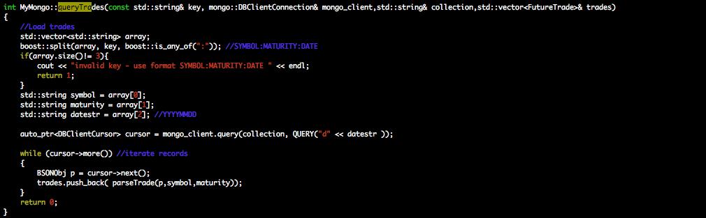 Unix Trader: Managing Big Data with MongoDB