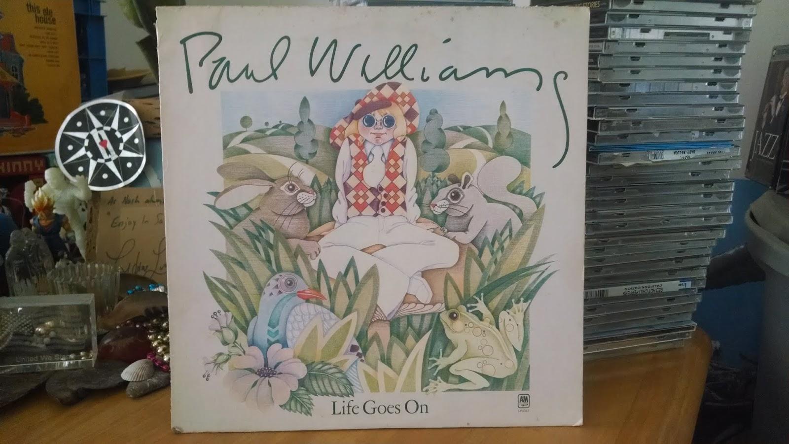 DOWN UNDERGROUND: Paul Williams - Life Goes On LP 72