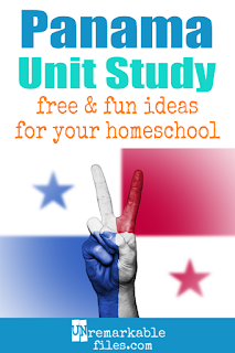 This Panama unit study is packed with activities, crafts, book lists, and recipes for kids of all ages! Make learning about Panama in your homeschool even more fun with these free ideas and resources. #panama #spanish #educational #homeschool