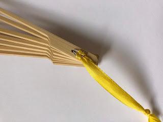 DIY- Basteltipp für einen Faltfächer aus Stoff von Ars Vera