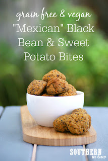 Mexican Black Bean and Sweet Potato Bites Recipe
