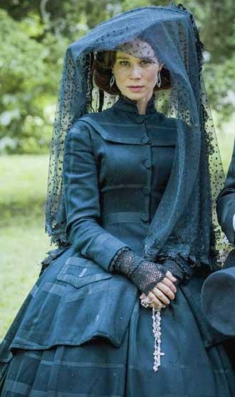 Vestido preto da condessa de barral