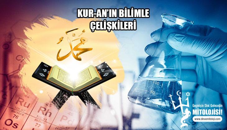 din, islamiyet, K, Kuran'daki bilimsel çelişkiler, Kur-an'a göre sperm, İslamda soru sormak yasak, Kıble çelişkisi, Kıble yoktur, Kıble uzay boşluğu, Kur-an'da denizlerin karışmaması,