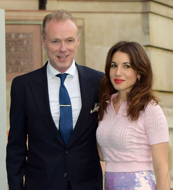 Lauren Kemp At Summer Party At The Victoria And Albert Museum In London