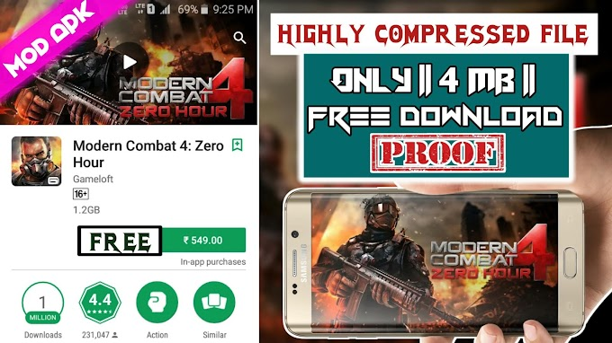 how to get modern combat 4 for free