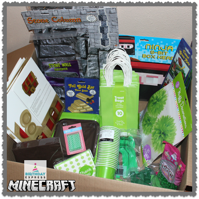 Minecraft Birthday Bundle