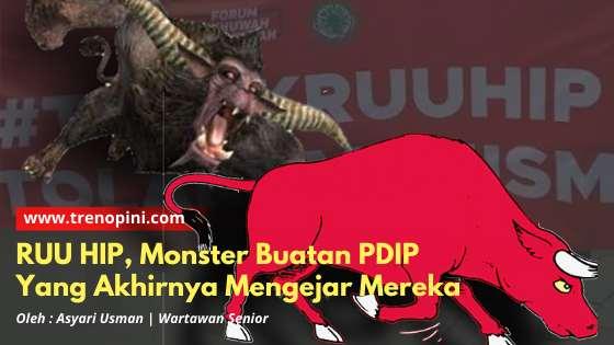 RUU HIP, Monster Buatan PDIP Yang Akhirnya Mengejar Mereka