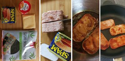 Kimbap Sandwisch - Zubereitung