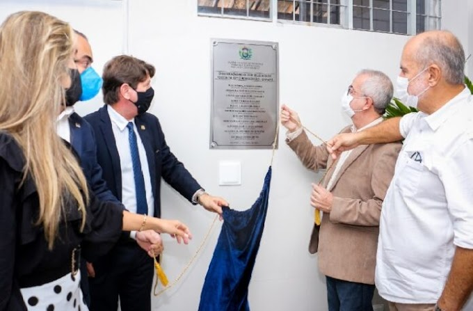 Nova sede da Delegacia de Polícia de Gravatá/PE  é inaugurada.