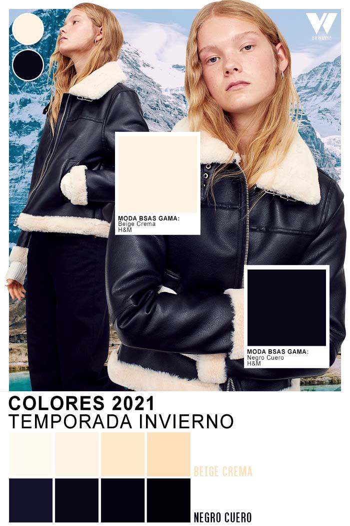 Negro y blanco acromaticos siempre de moda otoño invierno 2021