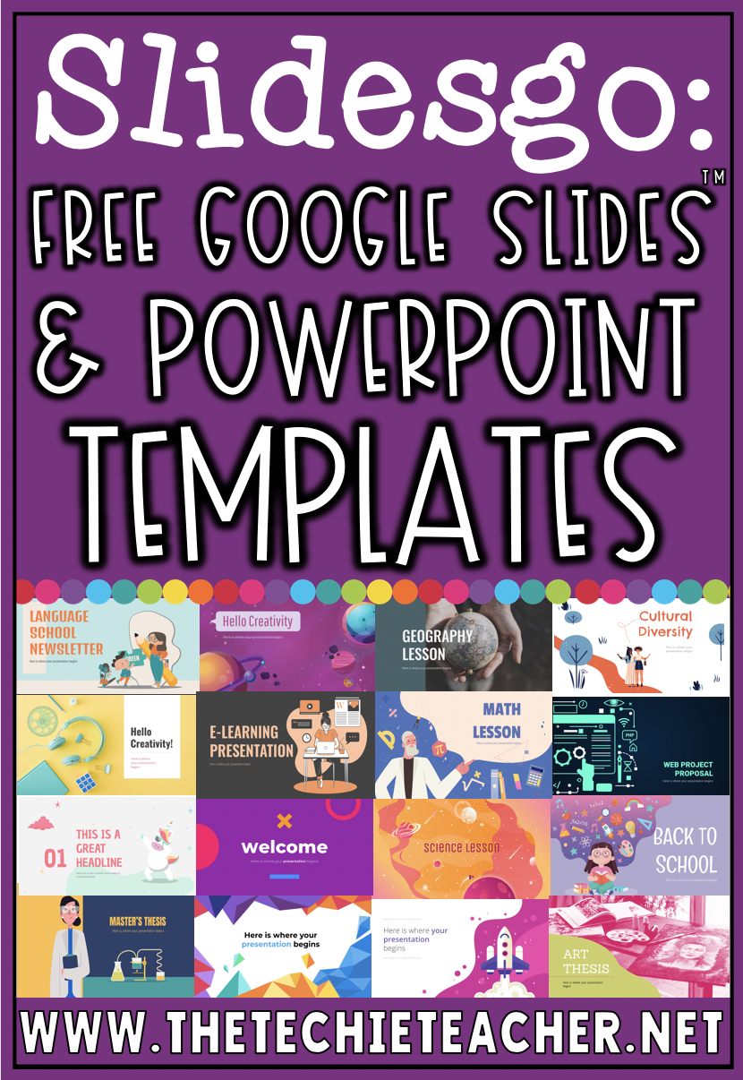 Are you looking to jazz up your Google Slides™ or PowerPoint presentations? Then I suggest checking out SlidesGo, a place where you can download presentation templates for free. There are Google Slides and PowerPoint templates for education, business, marketing and even the medical field!