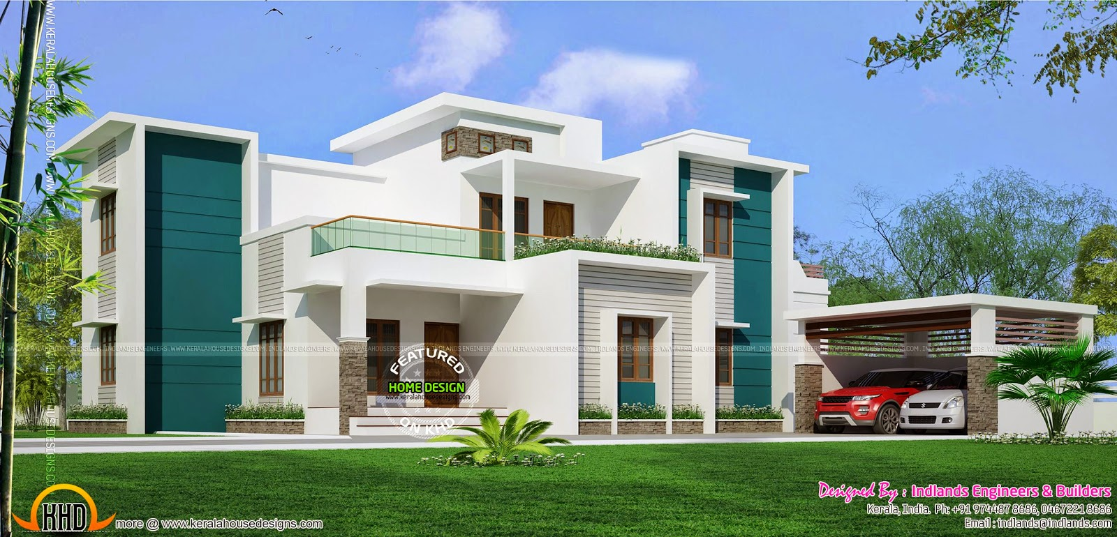 Kerala style villa in 2020 square feet   keralahousedesigns