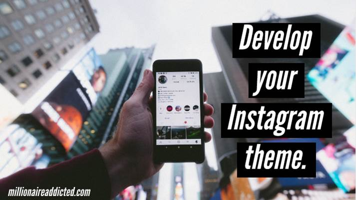 how to develop an instagram theme, instagram theme