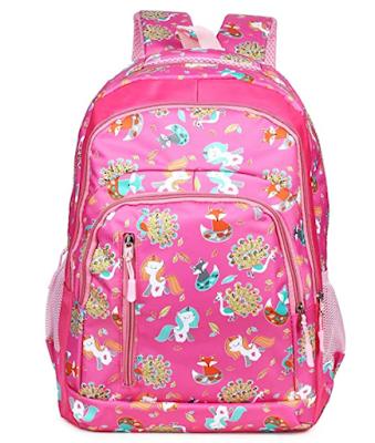 Unicorn Girls school bag