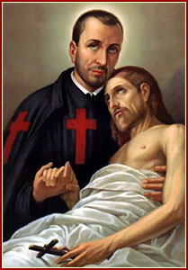 AMOR ETERNO: San Camilo de Lellis - (1550-1614) - Fundador de los ...