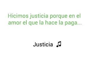 Silvestre Dangond Natti Natasha Justicia significado de la canción.