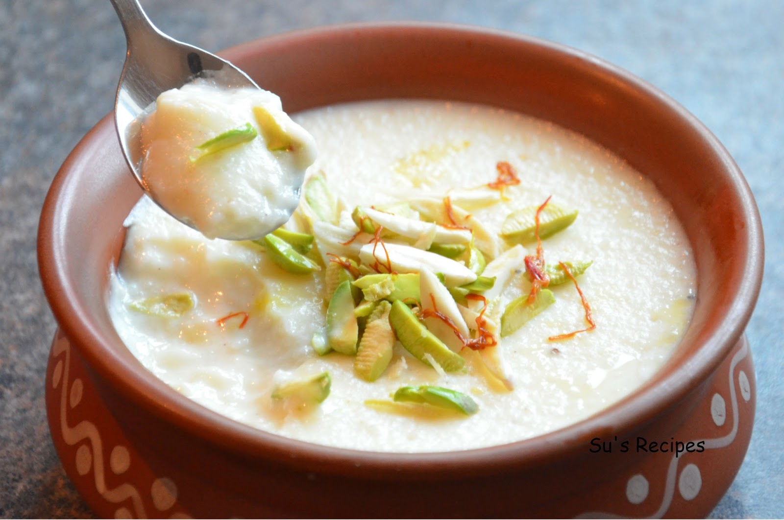 Phirni, sweet dessert, rice dessert, milk dessert, Indian dessert, earthen pot dessert, firni