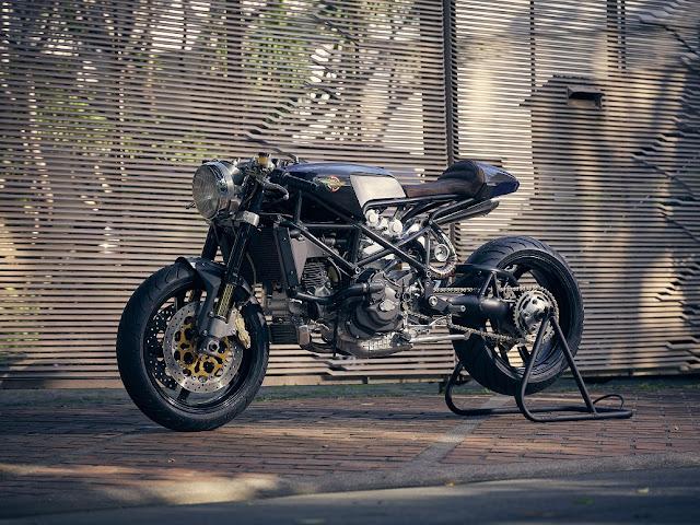 Ducati By Benjie's Cafe Racer Hell Kustom
