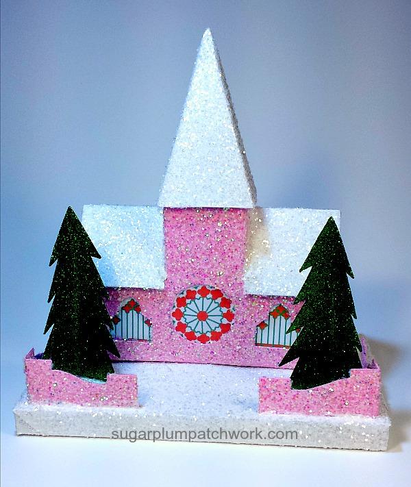 Photo of pink glitter house church