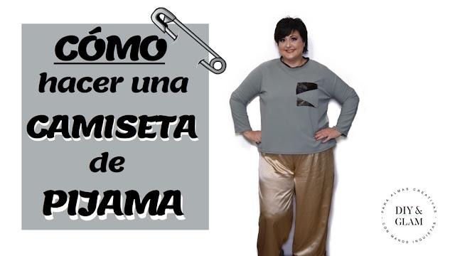 Diy camiseta de pijama