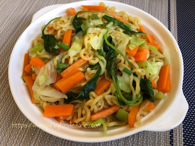Healthy-ish Lucky Me Pancit Canton Recipe