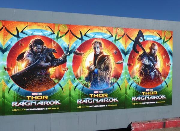 Thor Ragnarok street posters