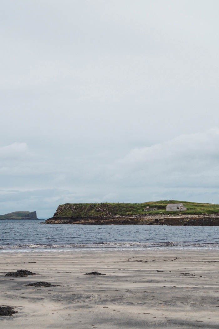 Staffin Island sur l'île de Skye en Ecosse