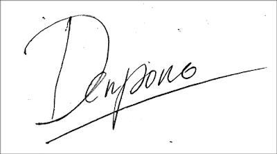 hasi tanda tangan di Photoshop