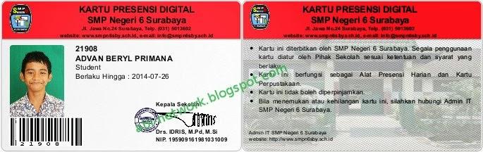 Catatan Kecil dari Kampung: MEMBUAT ID CARD ATAU KARTU ...
