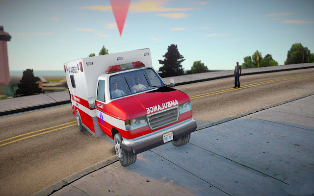 GTA San Andreas Call An Ambulance Mod 2021