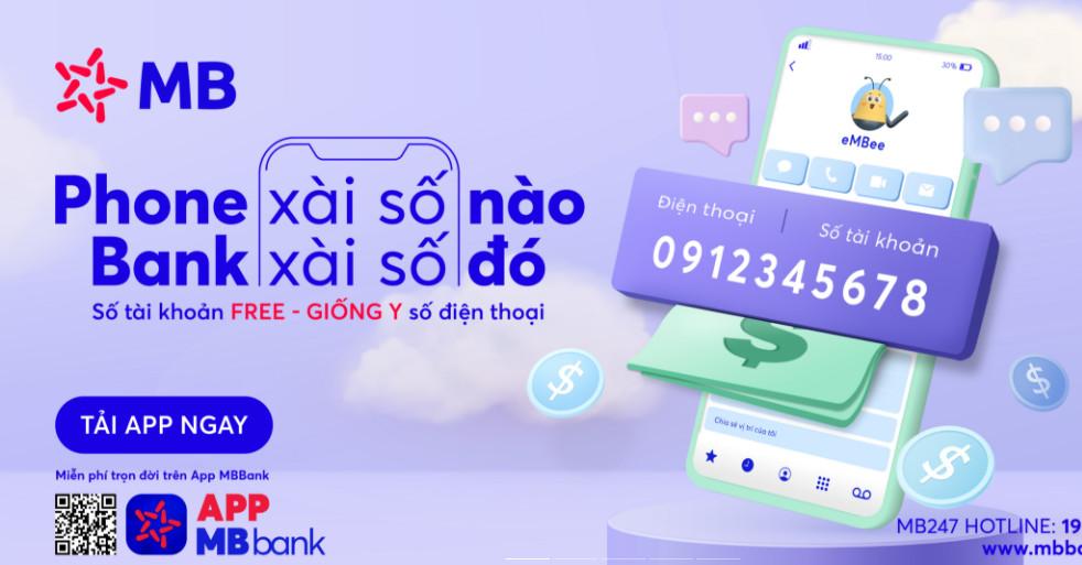 Mở tài khoản số đẹp MB Bank