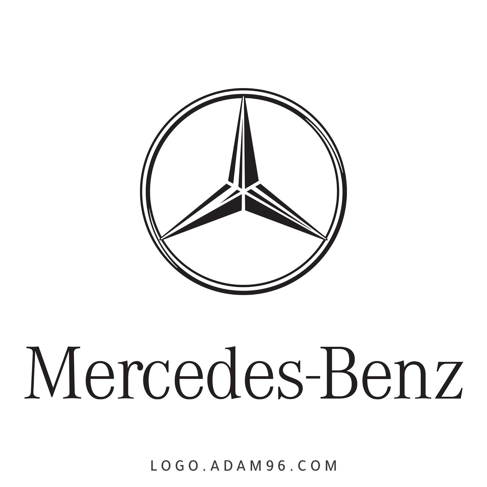 تحميل شعار شركة مرسيدس بنز Logo Mercedes Benz PNG