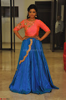 Nithya Shetty in Orange Choli at Kalamandir Foundation 7th anniversary Celebrations ~  Actress Galleries 135.JPG