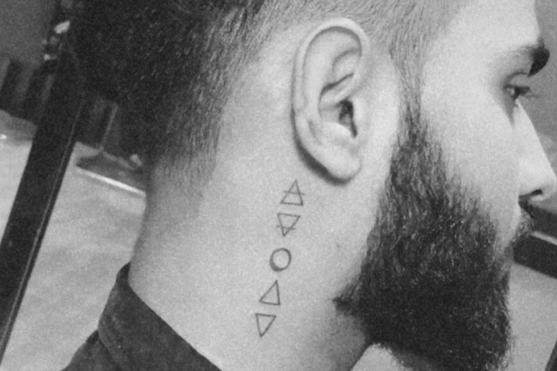 Small neck tattoo designs