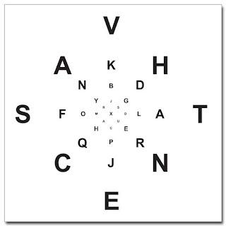 Peripheral vision training game
