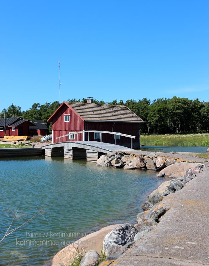 borstö vene purjehdus vierasvenesatama luontopolku punainen talo