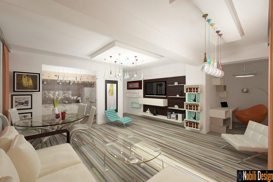 design interior apartamente 3 camere stil modern bucuresti