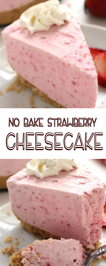 Recipe No Bake Strawberry Cheesecake