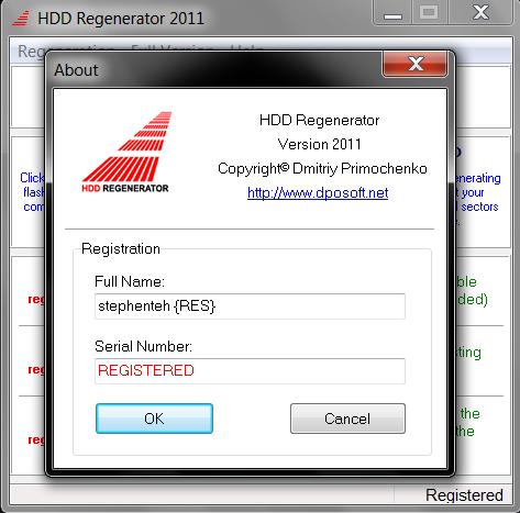 hdd regenerator 2011 破解