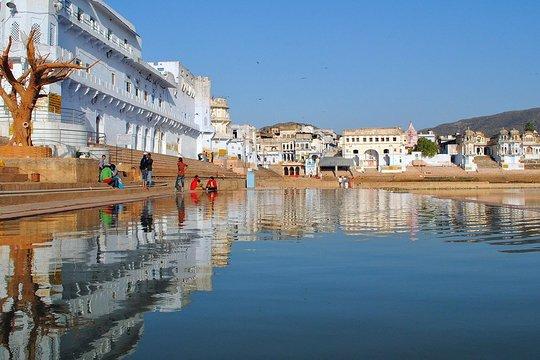 Sightseeing palace of pushkar