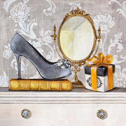 Set Retro Moda y Zapatos.