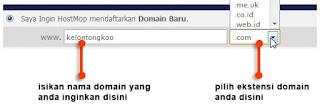 domain dan ekstensi domain