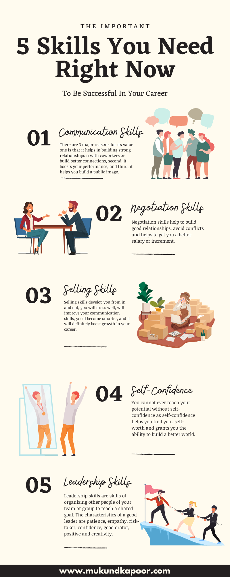 Skills you need right now for a successful career