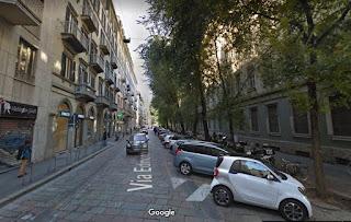 Via Edmondo de Amicis, where Guido Crepax lived