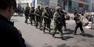 China Hancurkan Masjid Besar-besaran di Xinjiang